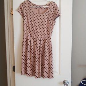 Pretty polka dot dress never worn